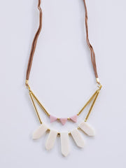 Ishaana Necklace White