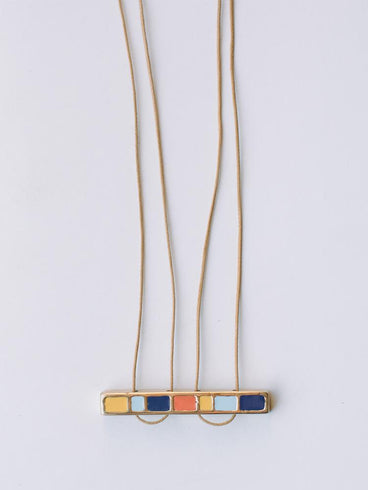 Jukebox Necklace Blue
