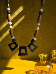 Kolkata Necklace Blue