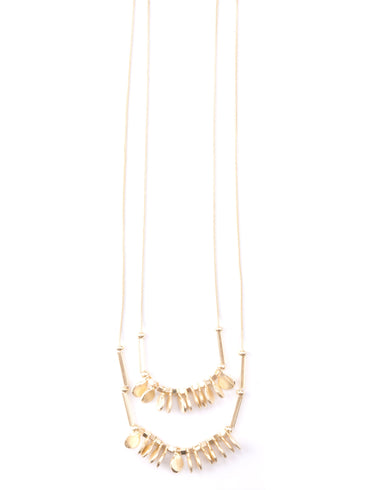 Leila Necklace Gold