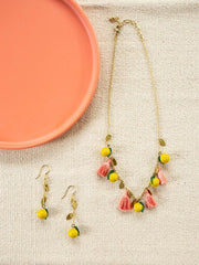 Limonata Necklace Yellow