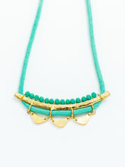 Malika Necklace Teal