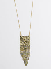 Metalwork Necklace Gold