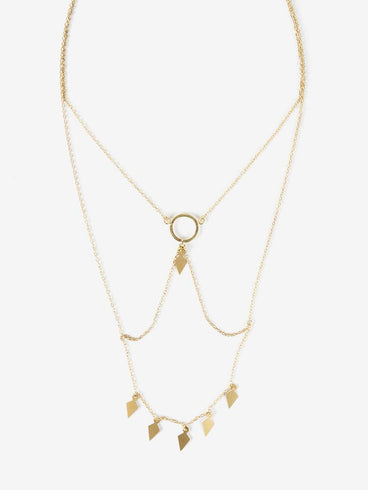 Minerva Necklace Gold