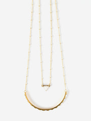 Nadira Necklace White