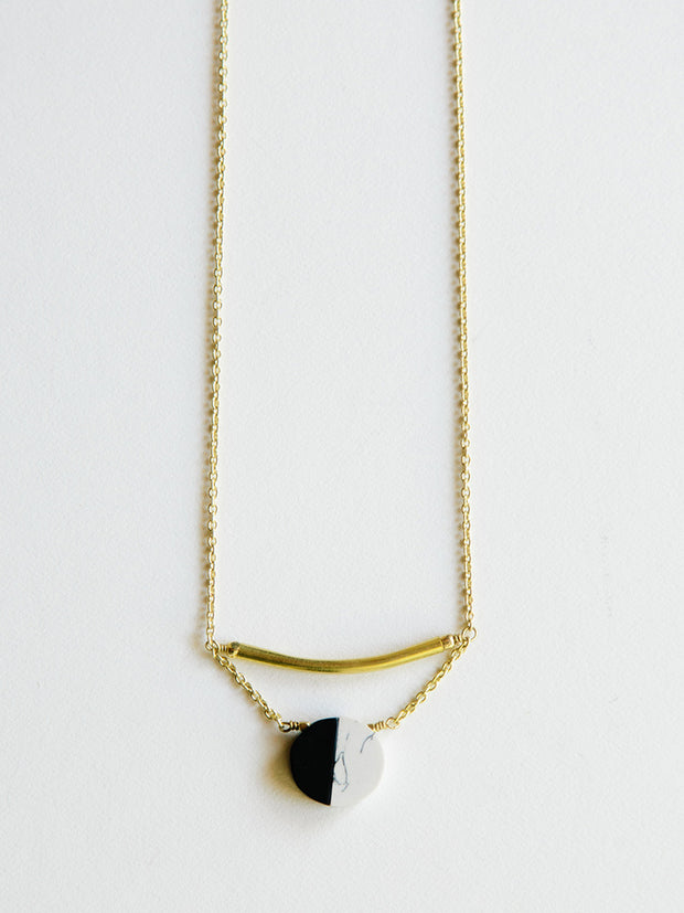 Nova Necklace Black