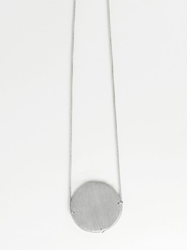 On The Horizon Necklace Silver