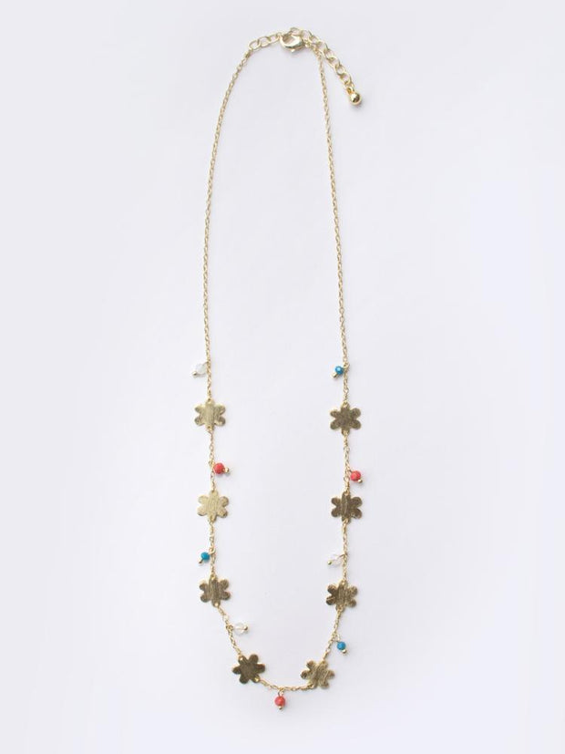 Petite Flower Necklace