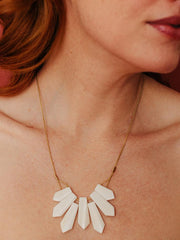 Point Reyes Necklace White