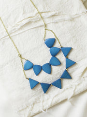 Rising Sun Necklace Cerulean