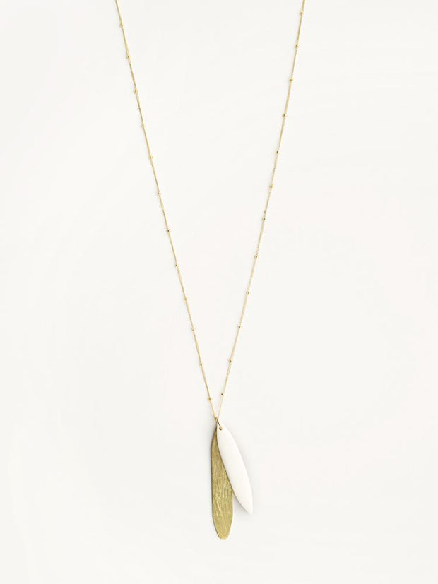 Sona Necklace White