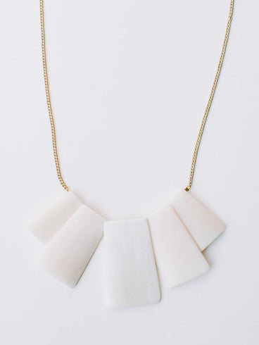 Voyager Necklace White