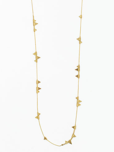 Zander Necklace Gold