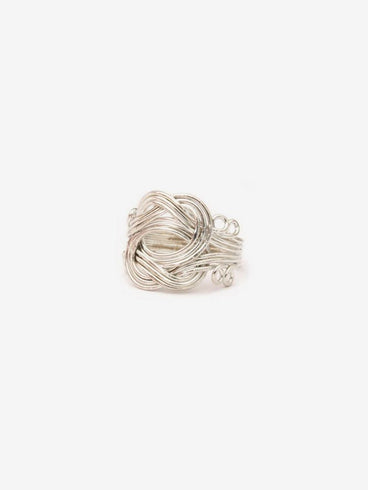 Curly Ring Silver
