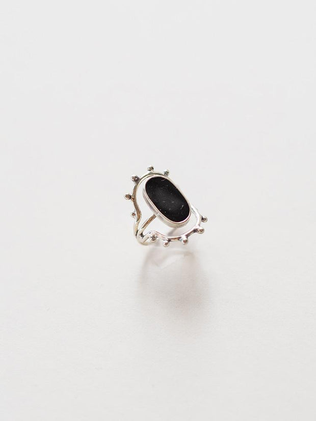 Manali Ring Black