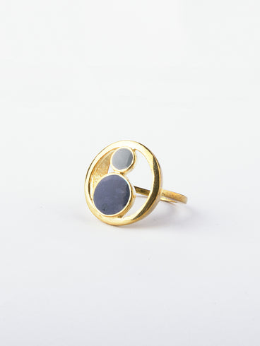 Orb Ring Navy