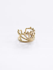 Petit Crown Ring Gold