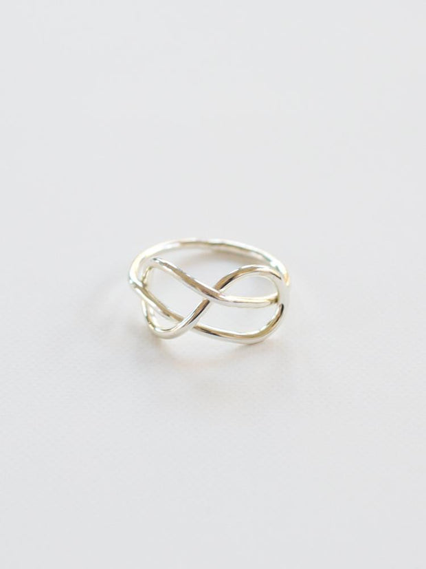 Top Knot Ring Silver