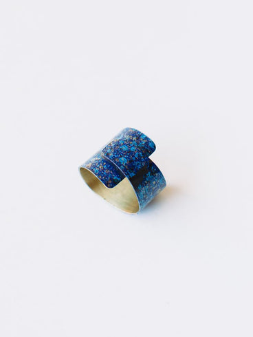 Wrap Ring Blue