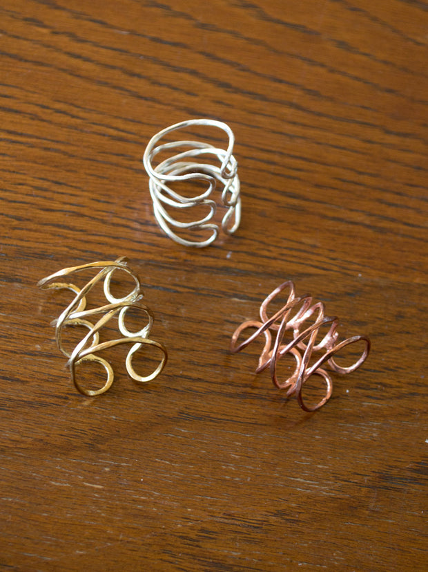 Wind And Water Ring Copper