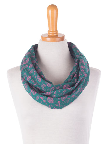 Jersey Infinity Scarf Emerald