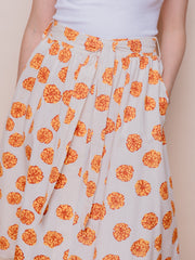 Laci Skirt Marigold White