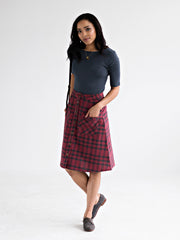High Line Skirt Fuchsia