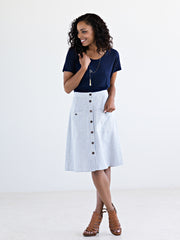 High Line Skirt Stripes