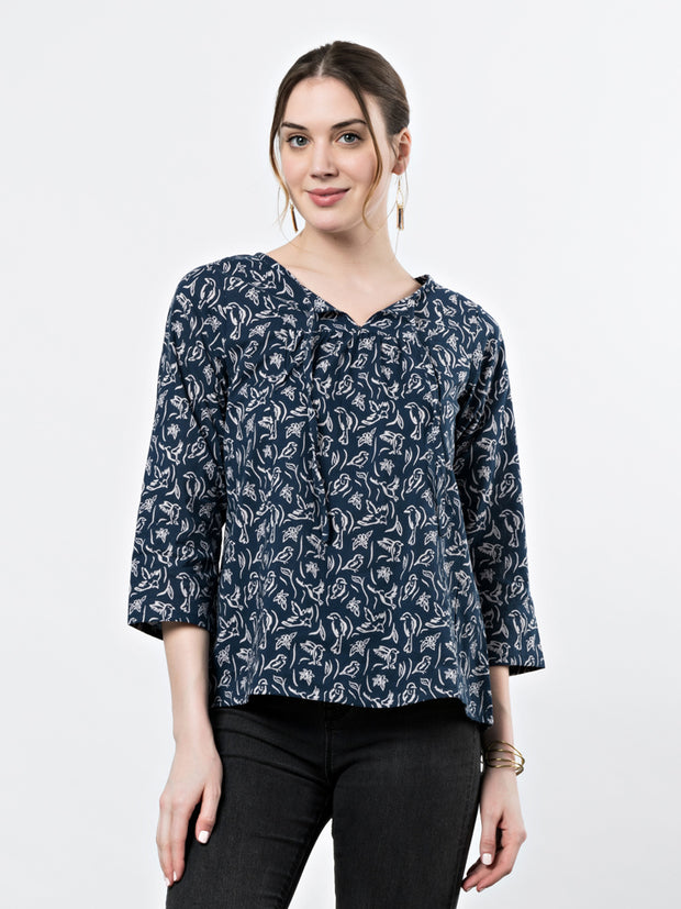 Merida Blouse Sparrows