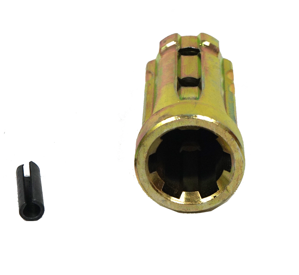 Pto Sleeve Increaser Closed End Adaptor 1 1 8 Quot X 6
