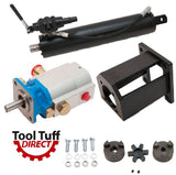 "Log Splitter Build Kit, 16 GPM Pump 5"" Cylinder, A7 Valve, Mount, Coupler"