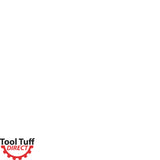 "Tool Tuff Earth Ogre Industrial-Duty Rock Auger, 12"" Diameter, Hex Drive, Interchangeable Standard Edges"