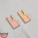 Tool Tuff Earth Ogre C35 Style Industrial Duty Earth Auger Replacement Teeth (Industry standard, fits many other brands)