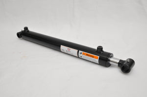 "Tool-Tuff 2"" Bore x 18"" Stroke Welded Cross Tube Tie Rod Cylinder 3000 PSI, SAE Ports"