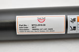 "Tool-Tuff 2.5"" Bore x 18"" Stroke Welded Cross Tube Tie Rod Cylinder 3000 PSI, SAE Ports"
