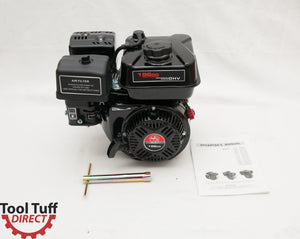 NEW! Tool Tuff 6.5 hp, 196cc 4-Stroke Gasoline Engine, Easy Starting & Reliable - Even in Cold Weather!