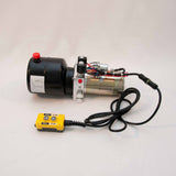 Tool-Tuff Double Acting 12 Volt DC Electro Hydraulic Power Unit w/Remote, Dump Trailer, DIY Hydraulic, etc