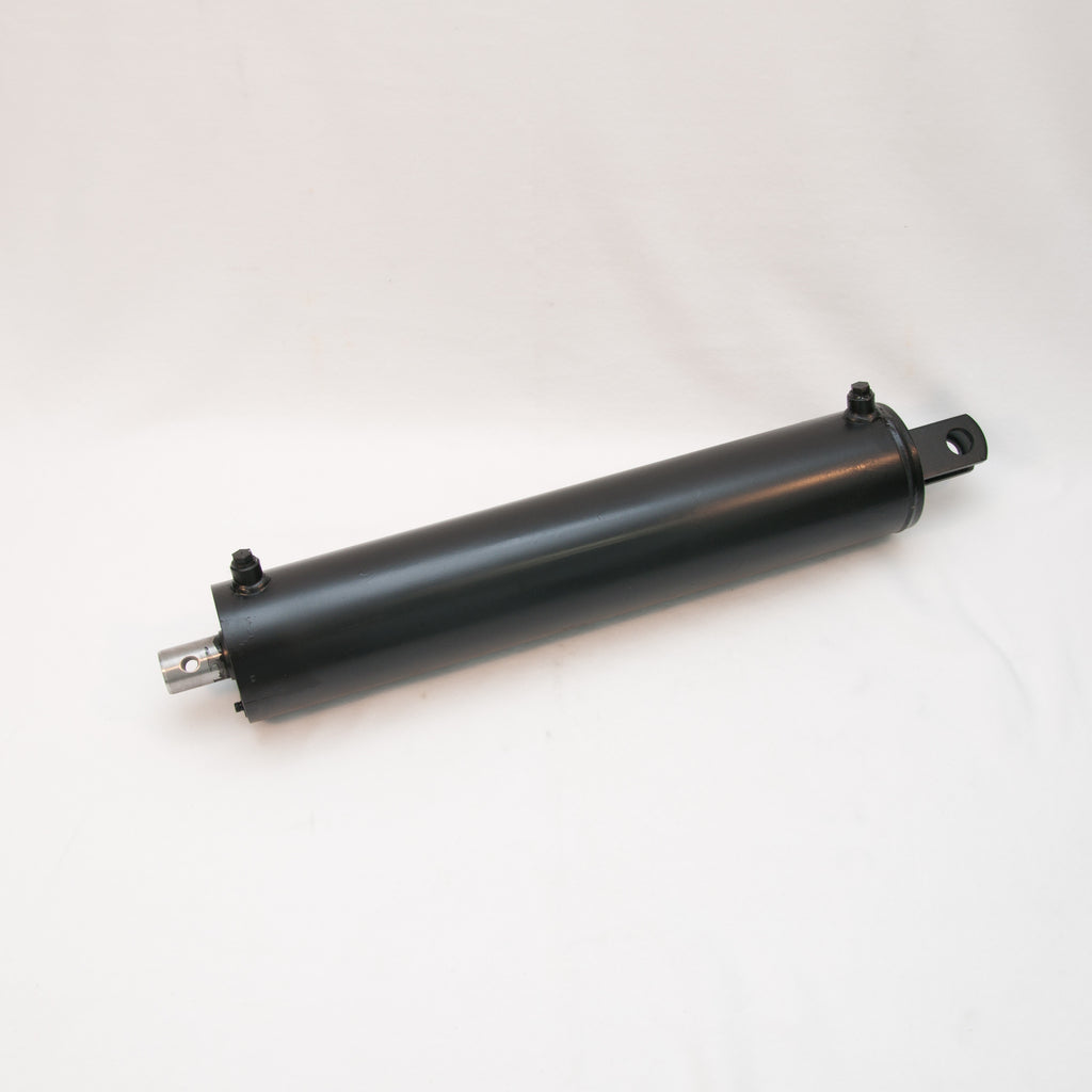 "Hydraulic Log Splitter Cylinder 5"" Bore x 24"" Stroke, Clevis Mount Style, OEM Replacement,"