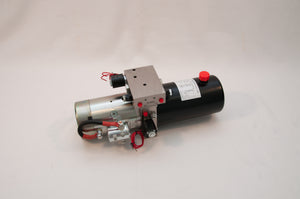 Tool-Tuff 12 Volt DC Electro Hydraulic Power Unit for Snow Plows, 2 Qt Tank, Direct fit for Meyers, Western & Many Others