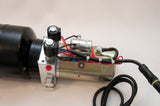 Tool-Tuff Double-Acting 12 Volt DC Electro Hydraulic Power Unit w/Remote, Dump Trailer, DIY Hydraulic, etc
