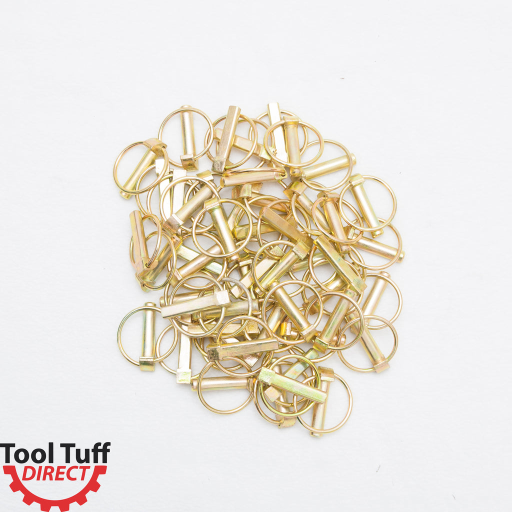 "50-Pack! Lynch Pin 7/16"" Diameter, 1-1/4"" Usable Length"