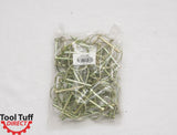 "50-Pack! Lock Pin, Round Loop 1/4"" Diameter x 1-3/4"" Usable Length"