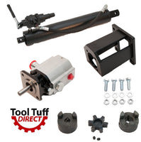 Tool Tuff Log Splitter Build Kit, 13 GPM Pump, 4