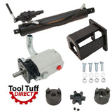 "Log Splitter Build Kit, 19 GPM Pump, 22 Ton 4"" Cylinder, Detent Valve, Mount, LO90 Coupler"