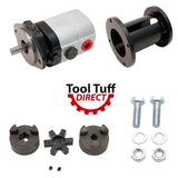 "Log Splitter Build Kit 22 GPM Pump, Coupler, Mount, Bolts, Heavy Duty - For Replacement or ""Build it Yourself"""