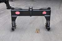 CAT 2 Heavy Duty (Reinforced Category 2) 3-Point Tractor Quick Hitch w/Set of Bushings