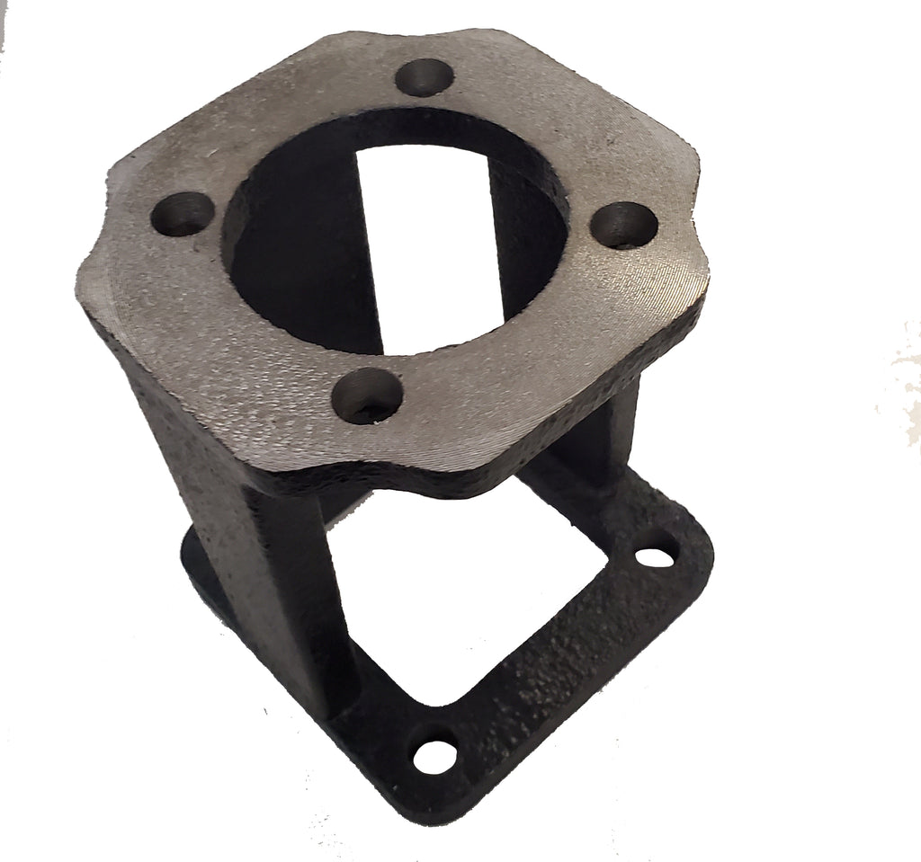 "Log Splitter Hydraulic Pump Mount Bracket, 2.5"" Square to 2"" Square (use w/ 5-7 Hp Engines, 11-13 gpm pumps, LO75)"