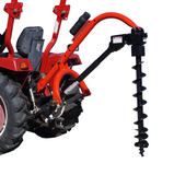 Tool Tuff Model 650 Tractor-Mounted 3-Pt Post Hole Digger W/Optional Auger Combos - Fits all Category 1 Tractors