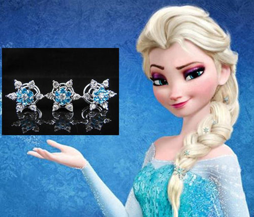Disney's Frozen Elsa & Anna princess Bridal Jewelry And Hair Accessory