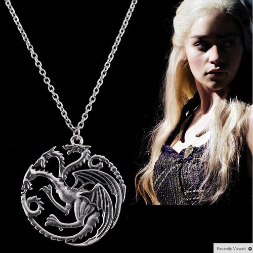 Free Game Of Thrones Targaryen Dragon Necklace
